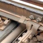 Kabelförläggning i skyddskanal om plats saknas under växelstaget